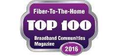 BBC Top 100 FTTH Logo