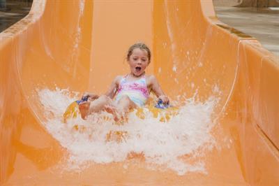 Waterslide Child