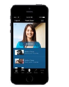 Skybell through smart phone